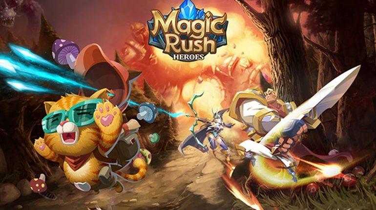 เกม Magic Rush Heroes