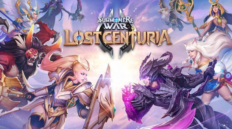 เกม SummonersWar : Lost Centuria